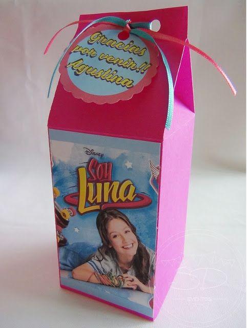 SD Eventos: SOY LUNA DECO Cajitas golosineras Soy Luna Souvenir Soy Luna Party favors Soy Luna