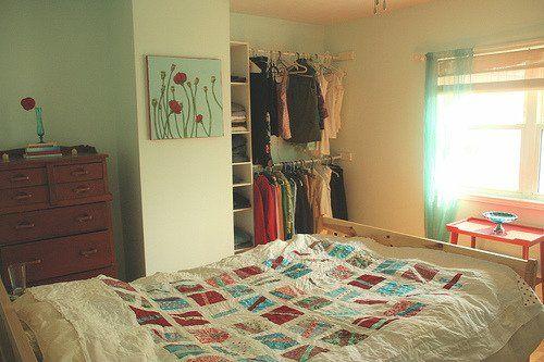 организация пространства в маленькой комнате
