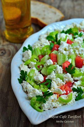 ✿ ❤ Perihan ❤ ✿ Lor peyniriyle yapılan kahvaltılık çok kolay bir salata :))