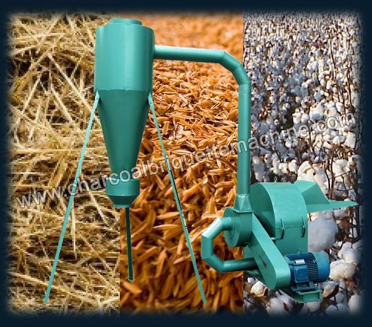 The straw crusher is designed for the effective utilization of agro straw resources, the successful development of it can not only avoid the waste of lots of biomass materials, but also protect the environment and develop the renewable energy. Featured with reliable performance, simple and convenient operation, widely usage range, the straw crushing machine can be used to crush corn stalk, straw, peanut shell, bean straw, etc. E-mail: briquettepress2013@gmail.com