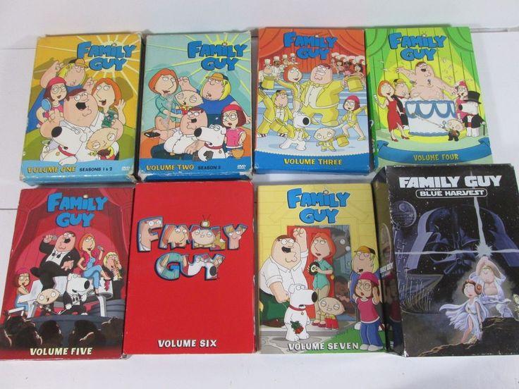 Family Guy Volume 1 2 3 4 5 6 7 + Blue Harvest Boxed Set DVD Lot Pre-Owned VGC