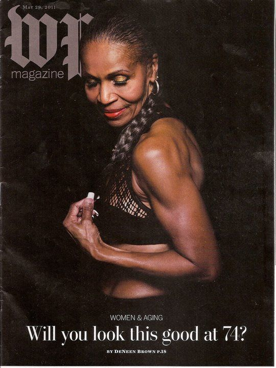 At 74, Ernestine Shepherd is a total inspiration. Will I look this good at 74? - YES!