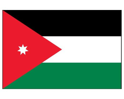 Jordan Flag - Jordan Flags - Asia Flags - Country Flags from ...