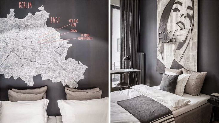 Bedroom idea (@Méchant Studio Blog)