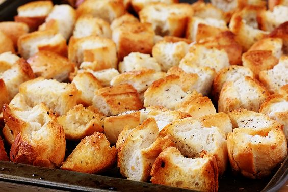 Homemade croutons, Homemade and How to make homemade on Pinterest