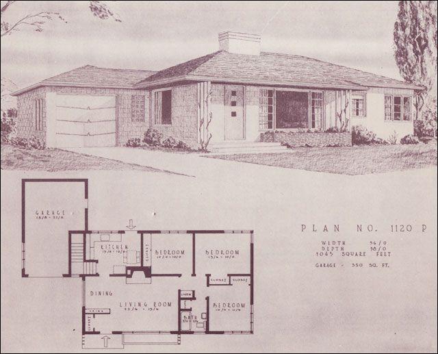 df9e8cbd789a789b9bd54d045777cf12 home building plans modern house plans 153 best mid century house plans images on pinterest,1950 Ranch House Plans