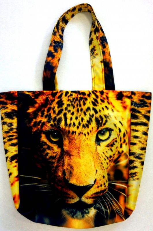 Wild tote bags, wild cats ;)