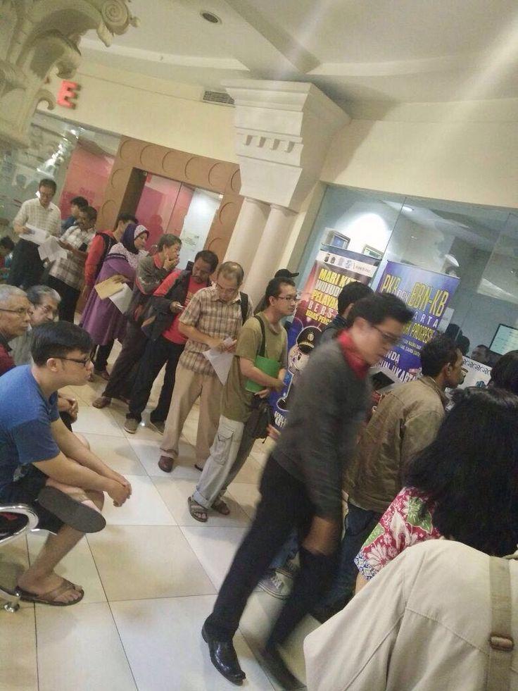 Pelayanan Samsat di Mall Artha Gading