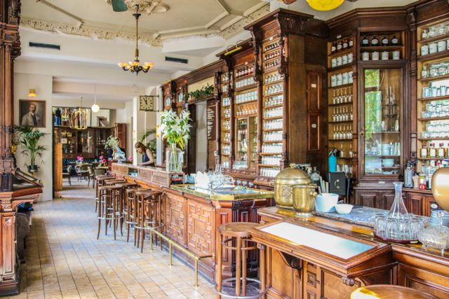 ORA – An Old Pharmacy Reborn as Charming Cafe