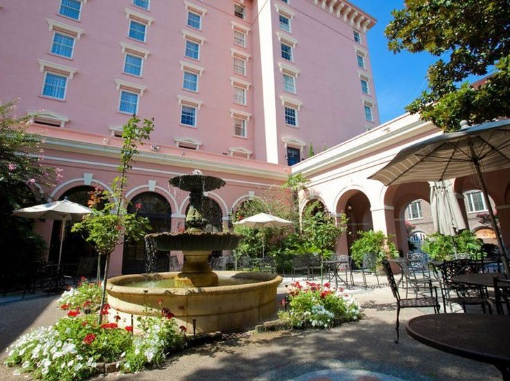 Best Hotels in Charleston, S.C. : Condé Nast Traveler Mills House Hotel