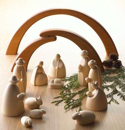 Decora tu casa en Navidad con un moderno Belén