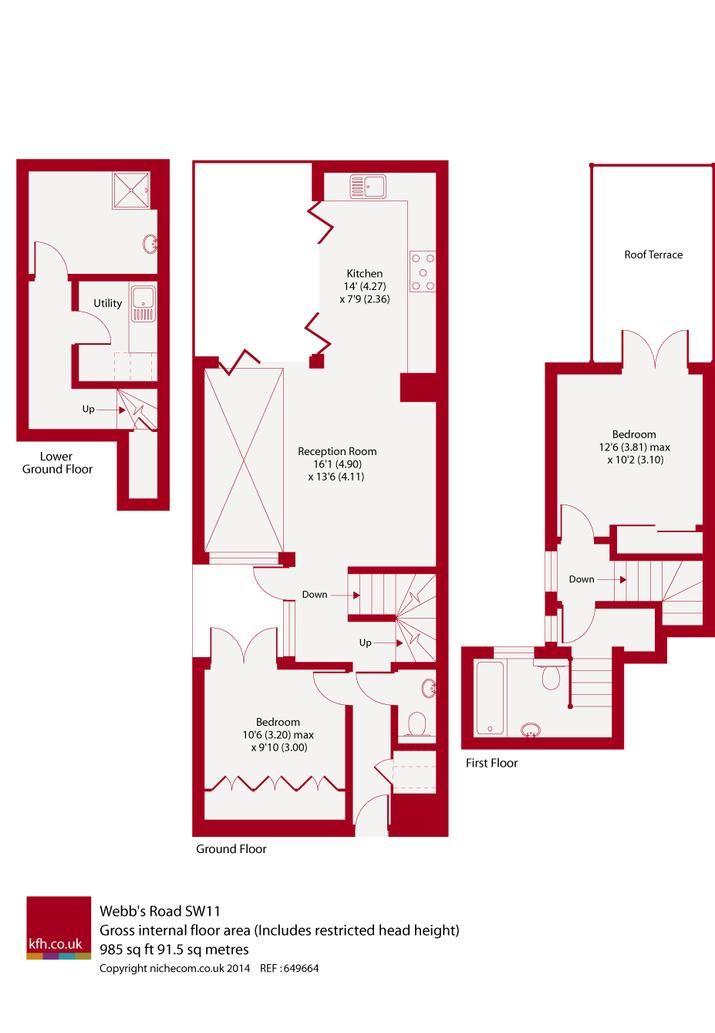 Webb's Road floor plan