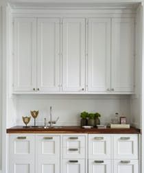 LOWER CABINETS - Modern Farmhouse  Kitchen  Butler's Pantry  Architectural Detail  Design Detail  Contemporary  American  Architectural Details  Modern  Eclectic  Transitional  Farmhouse by Tom Stringer Design Partners