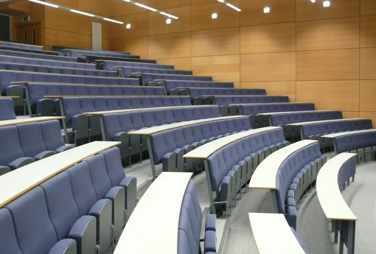 Auditorium | Lecture hall | Lecture theater | With Tables | Design Concept