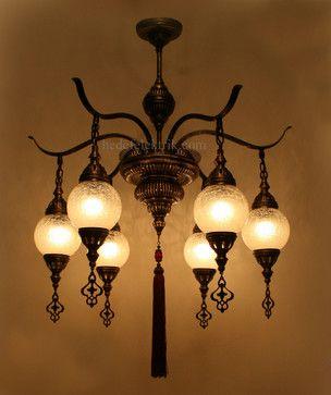Mediterranean Chandeliers Turkish Style Glass Chandelier