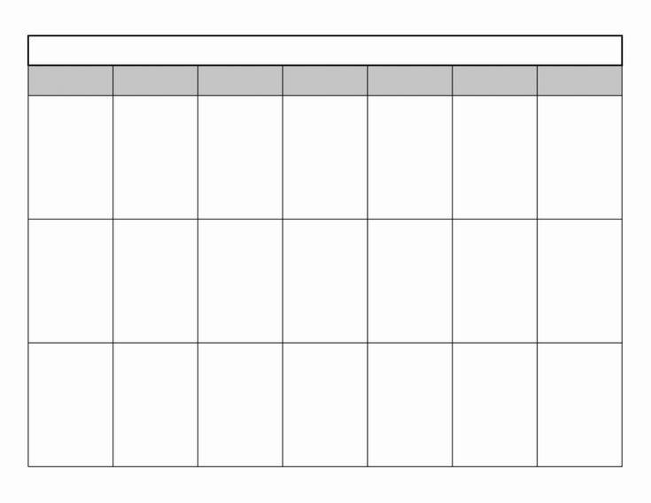 Luxury 50 Examples Printable Blank Calendar with ...