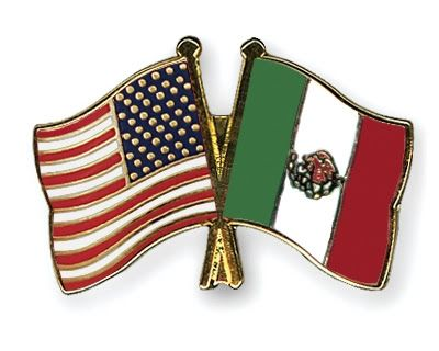 flag of italy and mexico