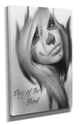 Day Of The Dead :: Day Of The Dead Canvas - Design 5 50x70CM