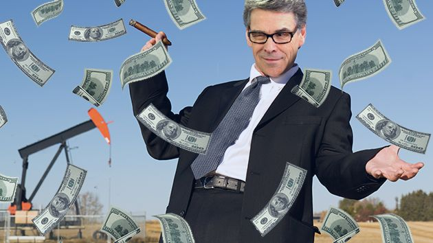 Rick Perry Is Still on the Payroll of a Controversial Pipeline Company | Mother Jones
