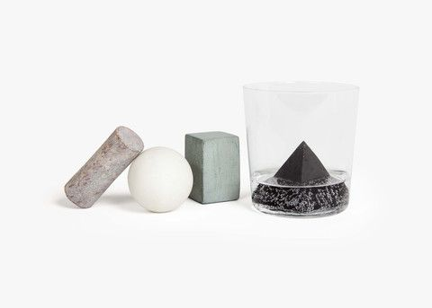 Beautiful and Modern Soapstone/Marble Drink Rocks that never water down your drink!