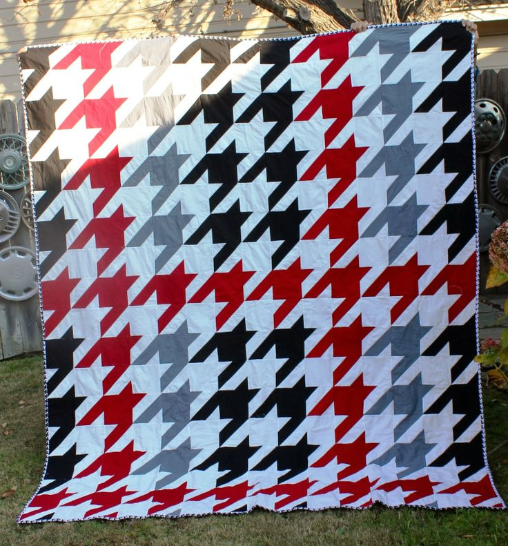 25 best Quilts - Herringbone and Houndstooth images on Pinterest ... : tula pink houndstooth quilt pattern - Adamdwight.com