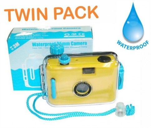Are you looking for camera which is water resistant? Do you want click underwater pictures? Now you can do that with 2 Pack of Waterproof 35mm Film Cameras offered from Ikoala.com.au online best daily deals site at just $19.00.