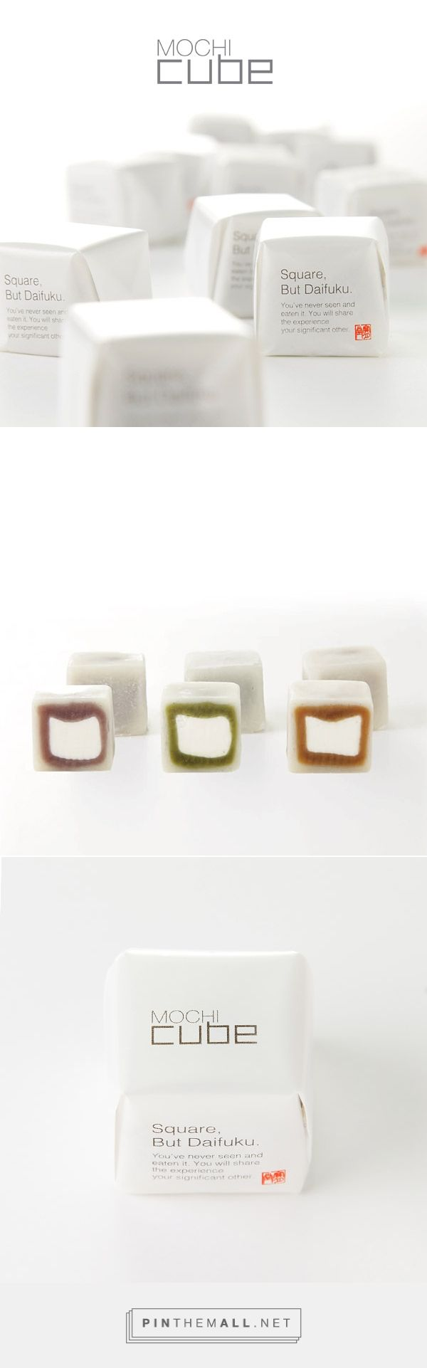 MOCHI cube ® | 鳥取 宝月堂 curated by Packaging Diva PD. Yummy something : )