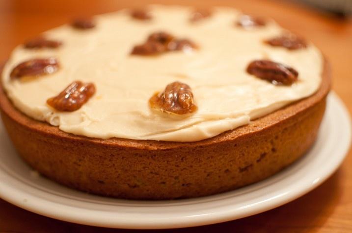 Pumpkin Cake with brown butter icing   Desserts   Pinterest