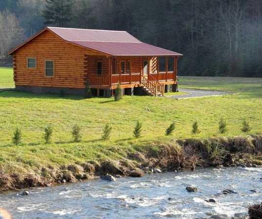 New luxury mountain vacation log cabin or my dre home i for Vacation log homes