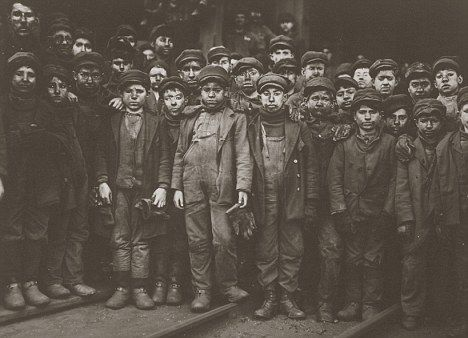Real life Oliver Twists: Child workers were often beaten, abused, hungry and tired. Their childhood was often over before it begun