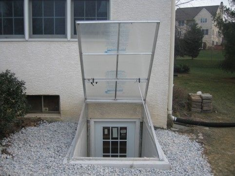 Cleargress Basement Door, cleargress cellar door, polycarbonate bilco door, clear bilco door, daylight door, clear cellar doors, clear doors for permentry stairs