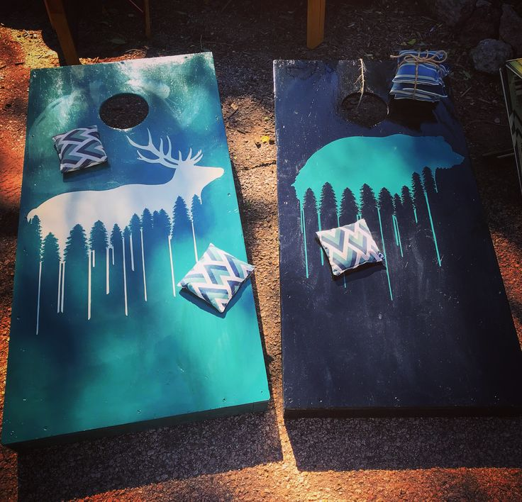 With the weather forecast back in the 70's this coming week, it's not too late to have an epic backyard Cornhole tournament!   Our New custom wildlife Cornhole sets are perfect for any party, event or backyard BBQ!  Hand painted with 3 coats of premium house paint. These are Perfect for any weather!  #nofilter #elk  #cornhole #trending #bear #coloradical #coloradolife #coloradofall #backyard #fun #5280 #denvercolorado #breckenridge #coloradomade #tailgating