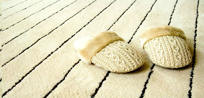 Wool carpet is clean and eco friendly option.