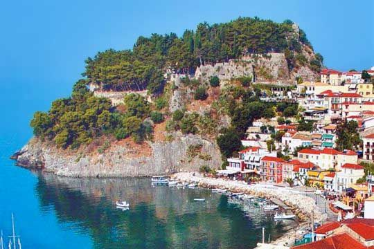 VISIT GREECE| #Parga #Epirus #greekcastles