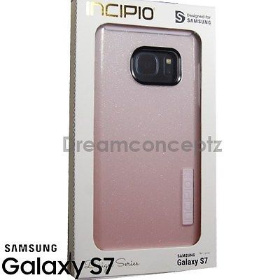 INCIPIO DualPro Glitter Design CASE for Samsung Galaxy S7 Only Sparkle Pink
