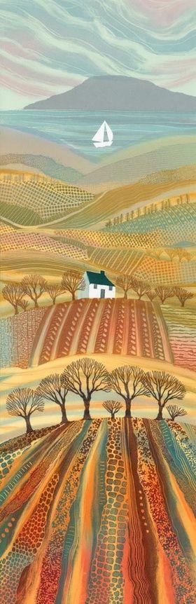 """""""Promised Land"""" by Rebecca Vincent, British Landscape Artist ...."""
