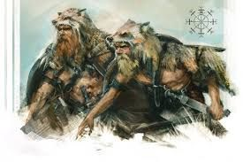 Image result for warriors wearing bear pelts