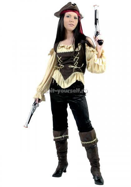 Зделать своими руками детский костюм пирата