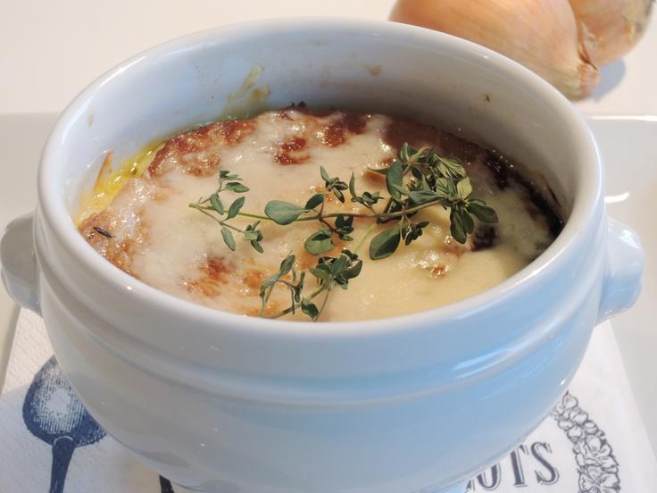 Fransk løksuppe - en klassiker om vinteren.