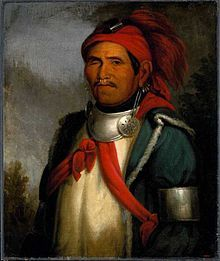 The Shawnee Prophet Tenskwatawa (1775-1836, shown) is said to have predicted the New Madrid earthquake of 1812, although some (especially Allen Eckert) have attributed the prophetic powers to his brother Tecumseh (1768-1813).