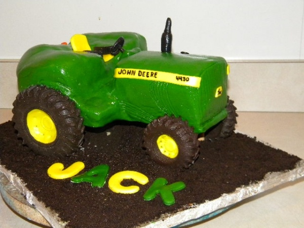 22 best tractor cakes images on Pinterest Tractor cakes