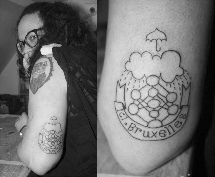 MANGEZ DES TÅRTES: Brux-hell power. #tartetatin_ #tattoo #bruxelles #atomium