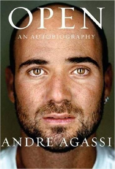 Open by Andre Agassi..  I read this last year and it is firmly in my top ten books of all time. This autobiography was both engaging and haunting as Agassi tells the story of his life framed by conflicts, balanced precariously between self-destruction and perfectionism. From early childhood Agassi hated the game of tennis, he resented the constant pressure even as he drove himself to become a prodigy of the game.