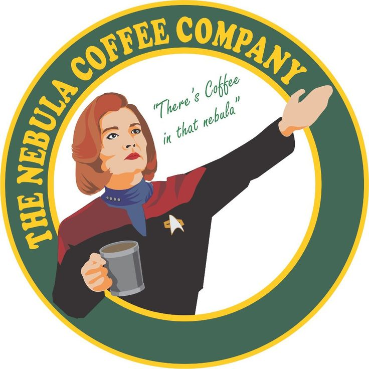 "Ah, Janeway and her fanaticism about coffee... but, hey, she beat the Borg with it! ""Coffee: the finest organic suspension ever devised."" #voyager"