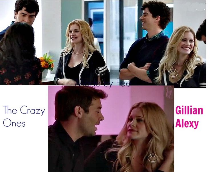 Gillian Alexy in US comedy The Crazy ones.