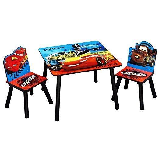 Sitzgruppe - Kindertisch - Kinderstuhl - Kindersitzgruppe mit Motivauswahl (Cars)