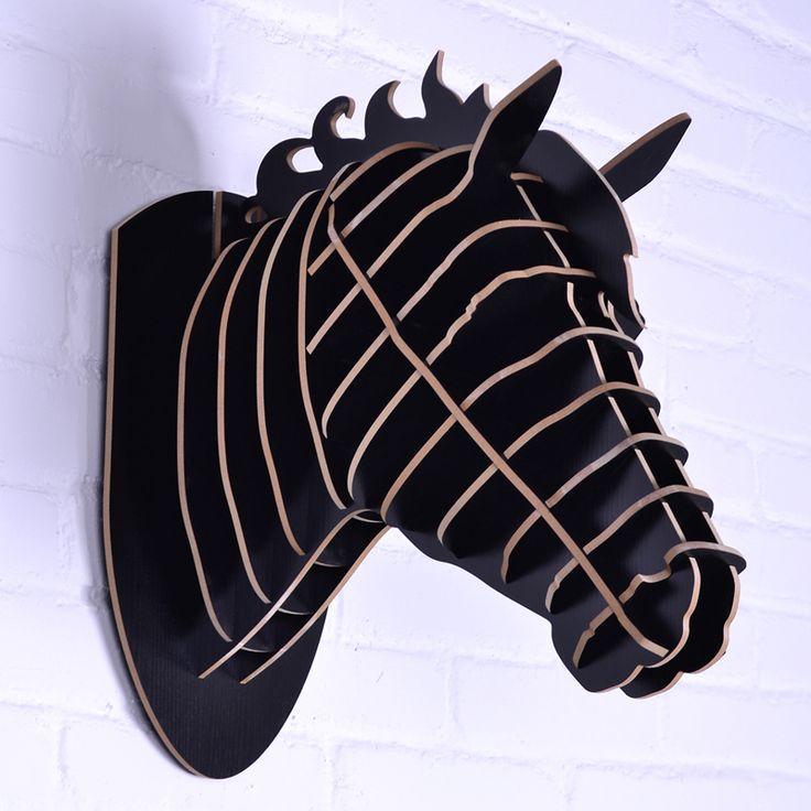 Cheap Caballo escultura, cabeza de caballo para decoración de la pared, mdf decorativo, artesanías de madera bricolaje, artículos de la novedad, pista de los animales de la pared, caballo de madera del arte, Compro Calidad Wood Crafts directamente de los surtidores de China:     Dhl/fedex/ems, envío rápido!           Desc:    Decoración de la cabeza Animal Caballo      Número de modelo:    KT1