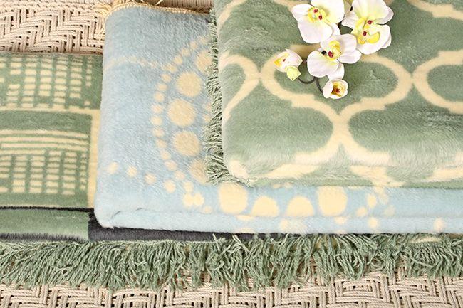 New Sesli Lily frill blankets