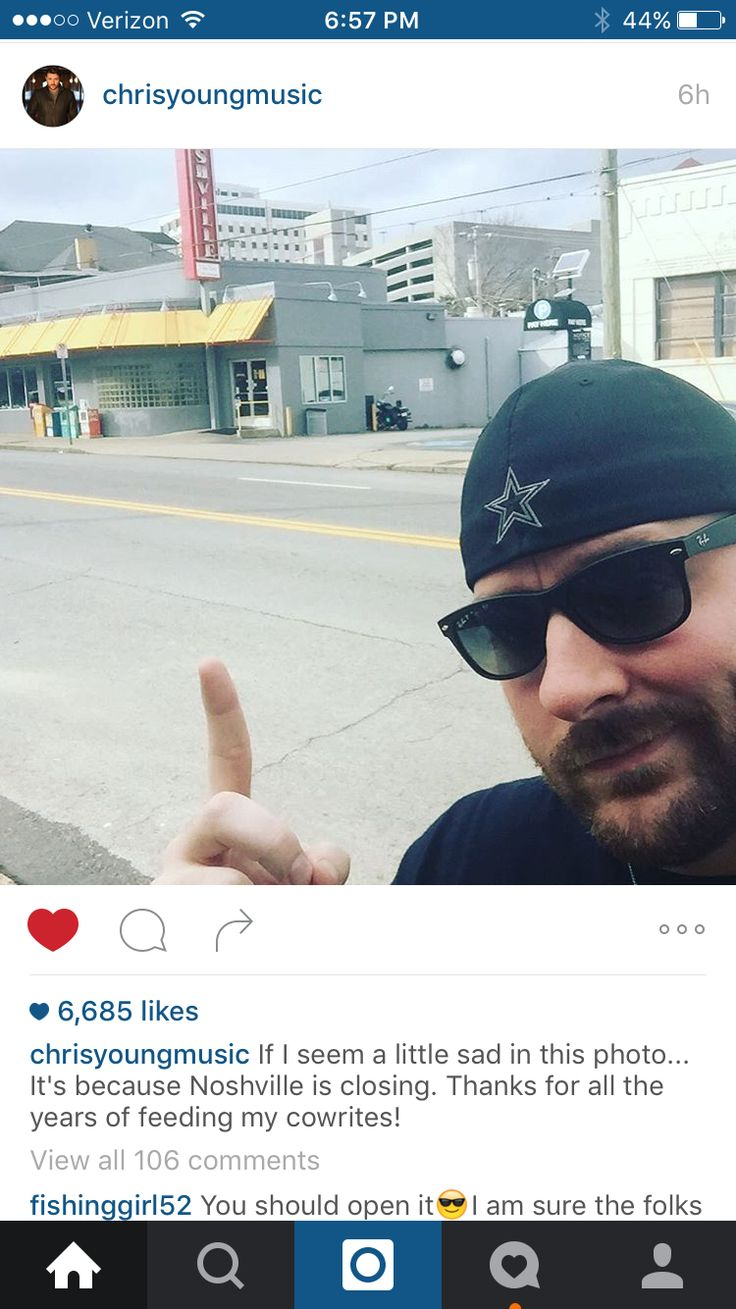 12 Best Chris Young Instagram Images On Pinterest