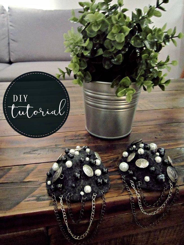 DIY epaulettes - tutorial - lilmissboho.com